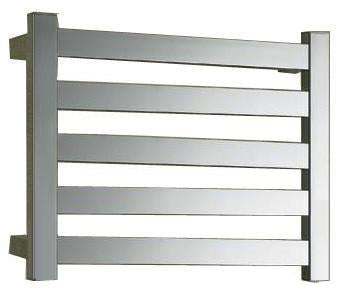 5 Bar Quadra heated towel rail