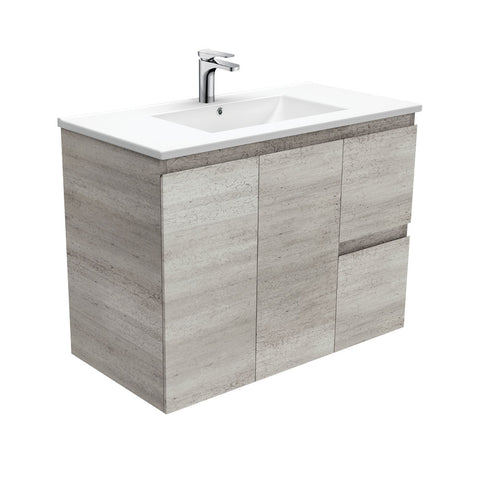 900mm industrial  edge wall hung vanity