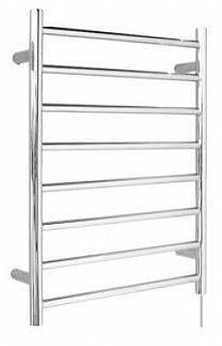8 Bar heated towel rail curved