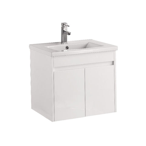 Wall hung vanity PSF600-WH