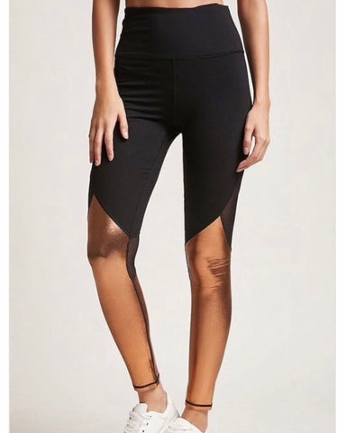 Copper Athletic Leggings