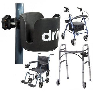 Walker Accessories Adult Disability Wheelchair Rolator Cane Cup Holder Senior