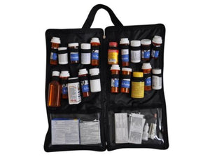 Portable Prescription Medicine Bag with FREE Pill box organizer by Razbag