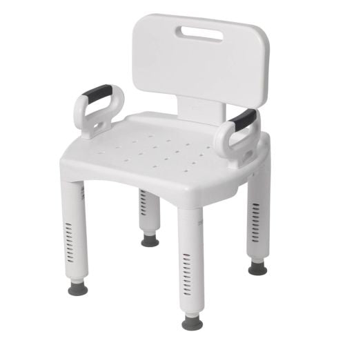 Adult Shower Aid Bathroom Safety Handicap Bath Seat Medical Chair Bench Stool