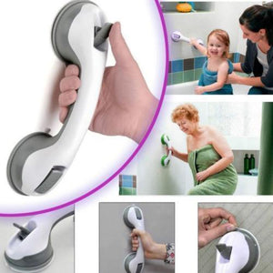 USA Grip Suction Cup Handrail Bath Tub Bathroom Shower Grab Bar Safety Handle
