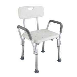 Meddyplus Medical Bath Elderly Shower Seat with Handles Mobility Aid Seat