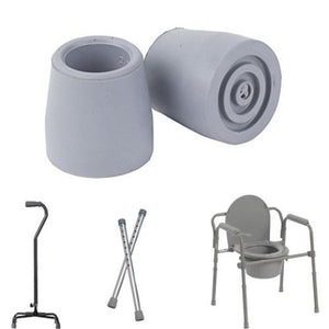Walker Replacement Parts Tip Medical Cane Walking Commode Chair Quad Senior Aids
