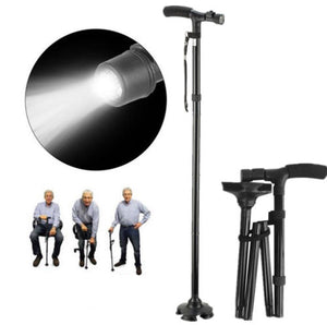 Folding Canes and Walking Sticks with Led Light For Seniors Men Women Location