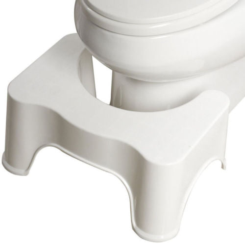 Bathroom Toilet Aid Squatty Potty Alternative to help Prevent Constipation