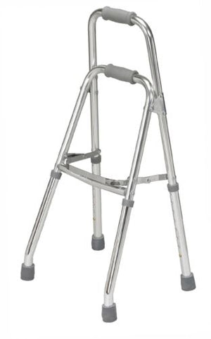 Folding Walker Medical Side Style Hemi Walker One Arm Chrome Adult Lightweight