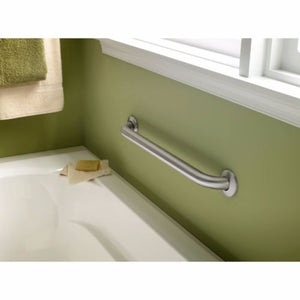 "18"" Safety Grab Bars For Bathroom Stainless Steel Handle Concealed Ends"