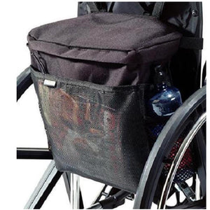 Wheelchair Accessory Backpack Tote Carry-On Large Compartment Adjustable Privacy