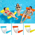 Outdoor Floating Water Hammock - Pool Swimming Lounger Backrest For Adults & Kids - MCSURES