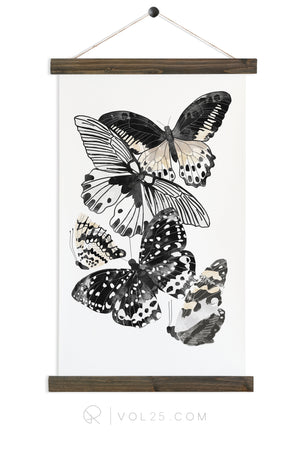 Cinder Flight | Canvas Wall hanging | more options