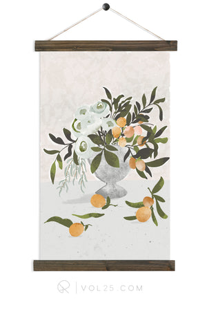 Citrus | Canvas Wall Hanging | More options