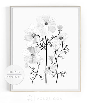 Flourish | High quality Large scale printable art