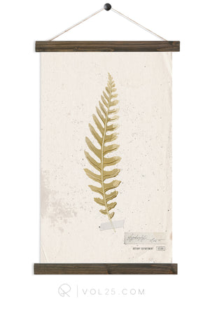 Golden Fern Study vol.2 |  unique wall hanging art  | More options
