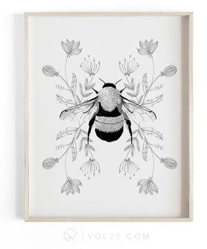Honey | Textured Cotton Canvas Art Print available in large scale sizes