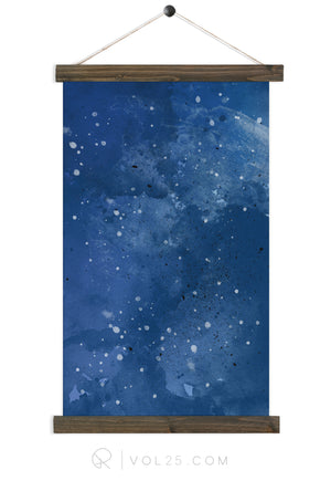 Indigo | Canvas Wall hanging | more options