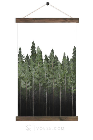 Into The Woods |  unique wall hanging art | More options QZ109