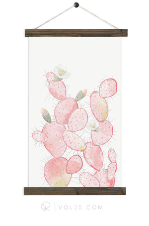 Prickly Pear | Canvas Wall hanging | more options