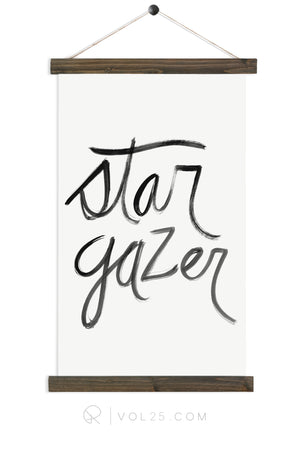 Stargazer | Canvas Wall hanging | more options