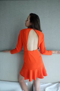 Round Up Dress in Mandarin by Finders Keepers