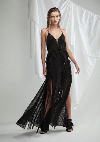 Barton Silk Maxi Dress by Acler
