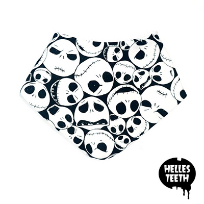 Jack's Nightmare Before Christmas Bib - Helles Teeth NZ