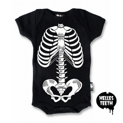 Ribcage Onesie - Helles Teeth NZ