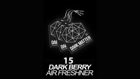15x - DARK BERRY AIR FRESHENER'S