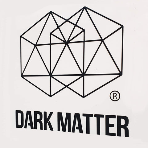 Dark Matter - Black Sticker