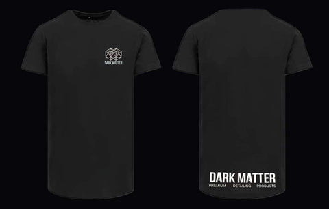 DARK MATTER - LONGLINE T-SHIRT - BLACK