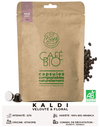 Capsules de café bio d'exception KALDI 100% compostables naturellement