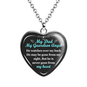 Dad Guardian Angel - Tribute Necklace - MNH209