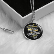 Fate Chiara Circle Necklace - For Girlfriend - MNC203