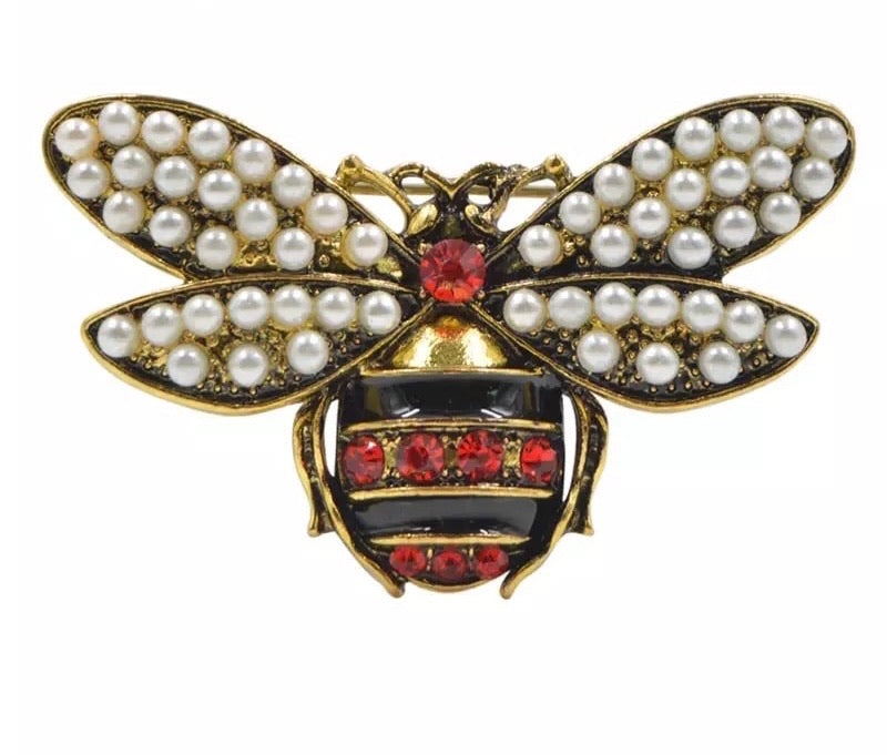 Darseen Bee Brooch