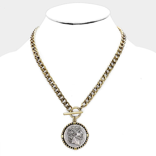 Cheryl Coin Necklace