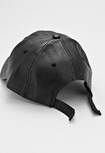 Nicole Faux Leather Cap
