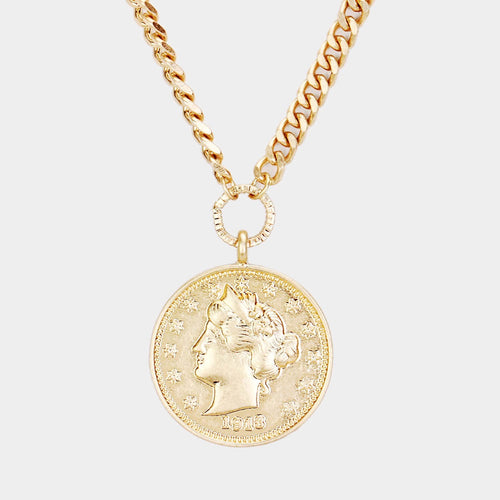 Kiran Coin Necklace