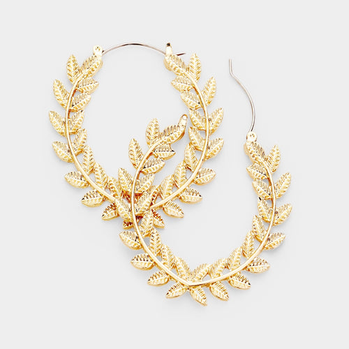 Lela Hoop Earrings