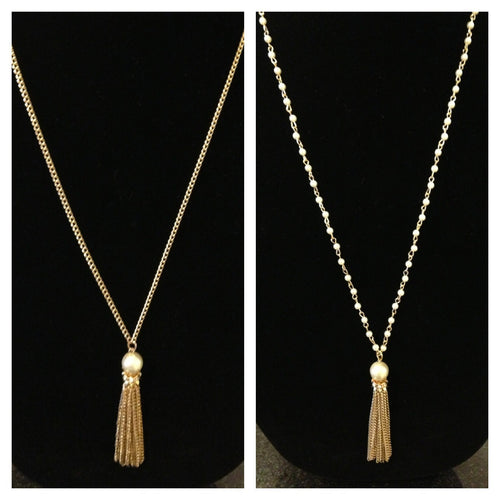 Lily Tassel Necklace