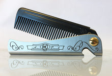 'Carbon' Man Comb