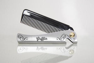 'Personalised' Man Comb