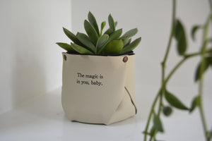 Little Leather Pots of Inspiration