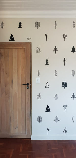 Mini Tree Decal Set