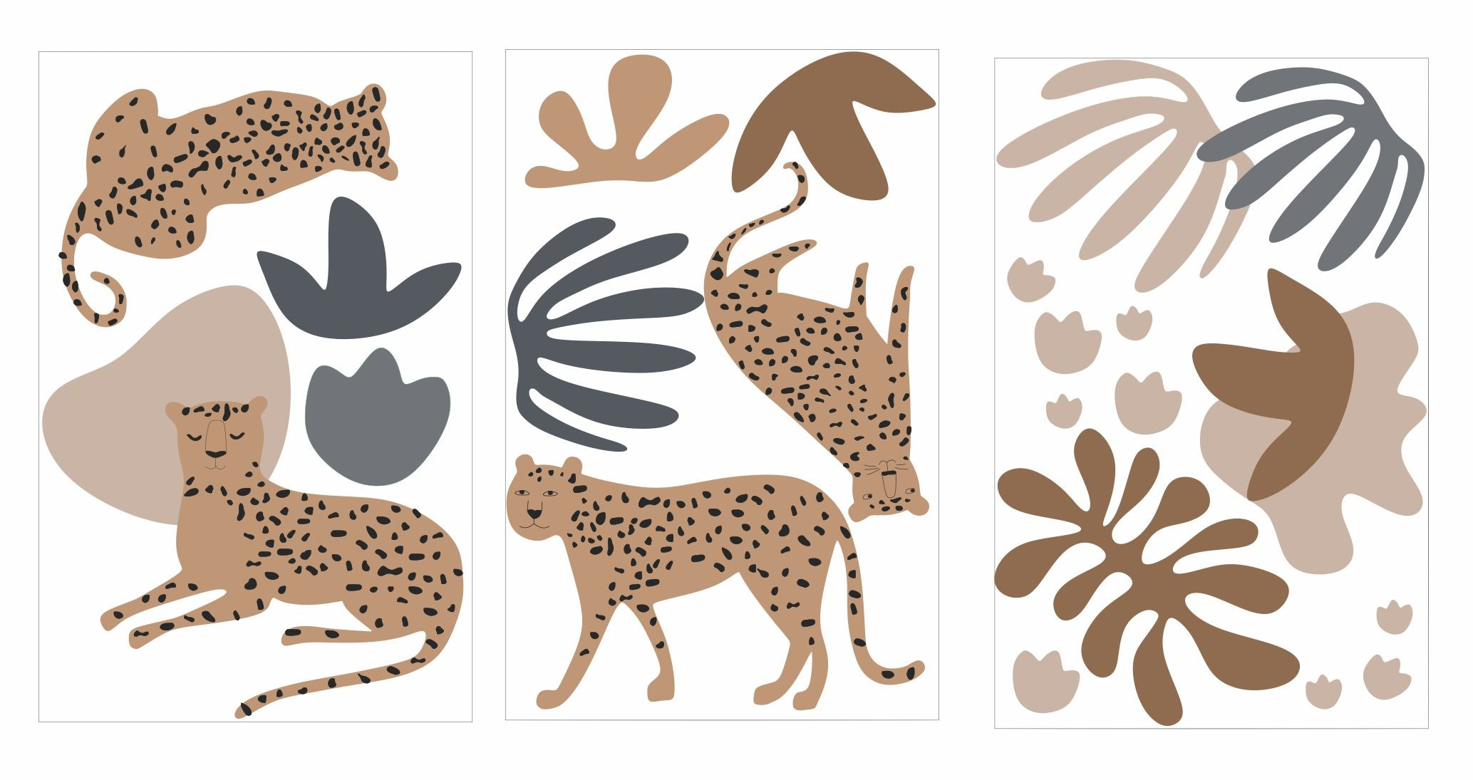 Leopard and Foliage Decal Pack