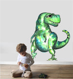 Watercolour T-Rex Decal