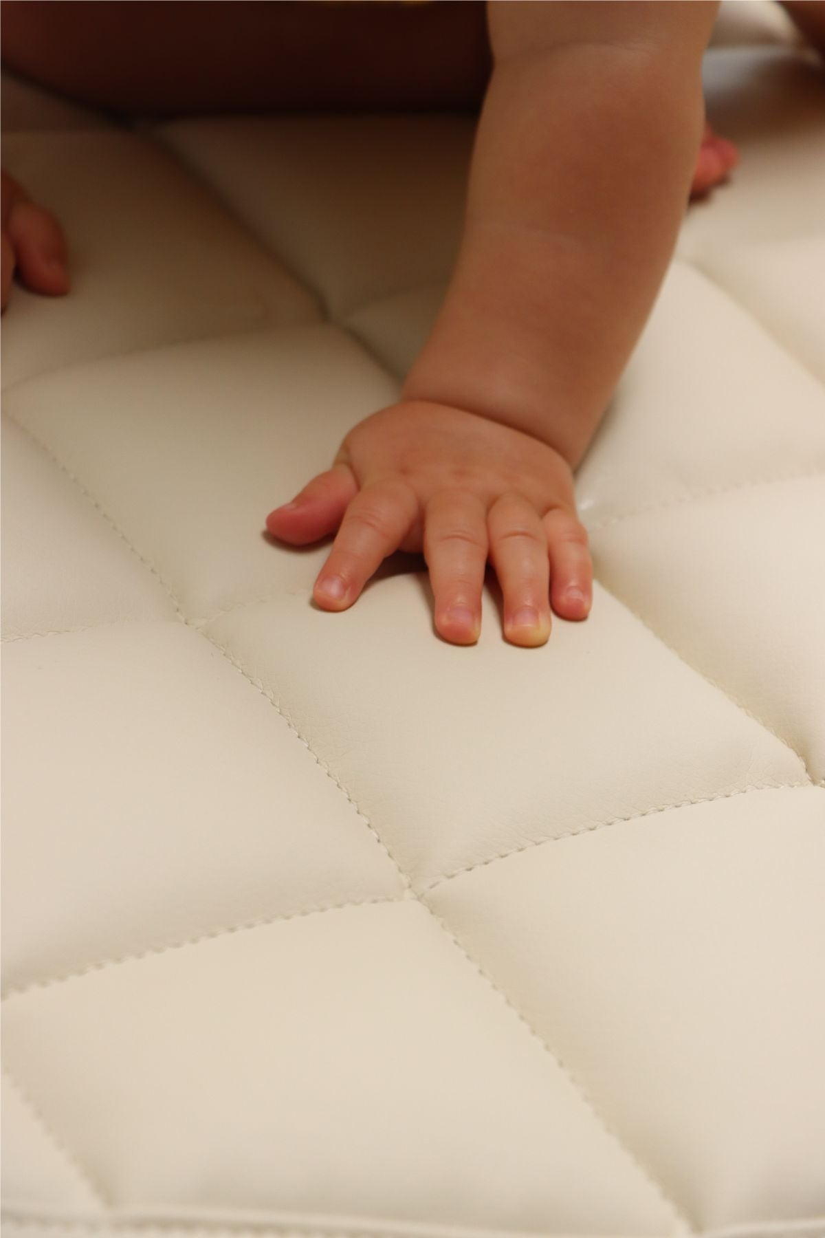 Quilted Play Mat - Vanilla