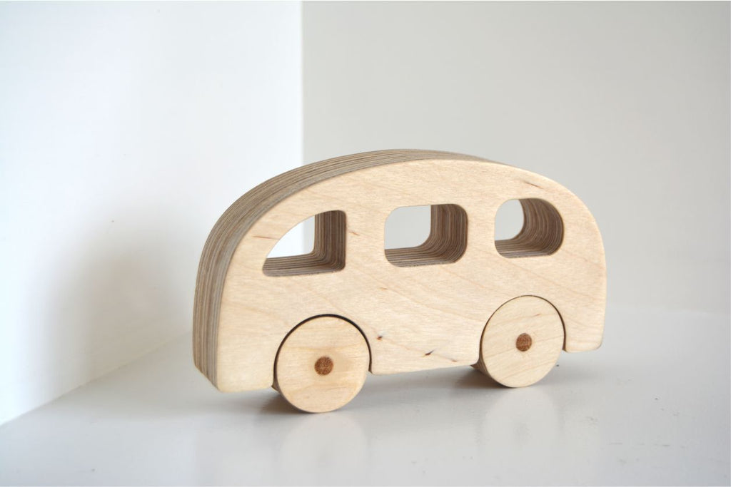 Wooden Taxi